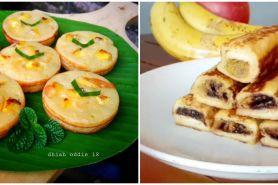12 Resep kue berbahan pisang tanpa oven, enak, lembut, dan praktis
