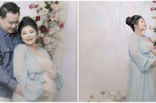Hamil anak pertama, ini 8 potret maternity Wendy Lo adik Sarwendah
