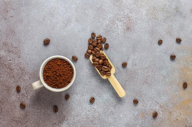 Cara membuat masker kopi dan minyak kelapa freepik.com