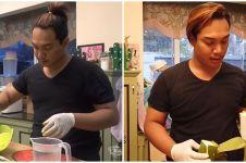 8 Potret Dava MasterChef jadi koki pribadi di rumah Ruben Onsu