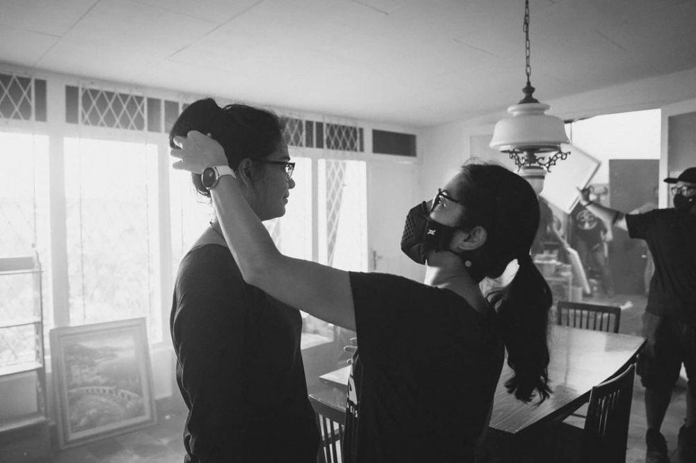 potret dian jadi sutradara © Instagram