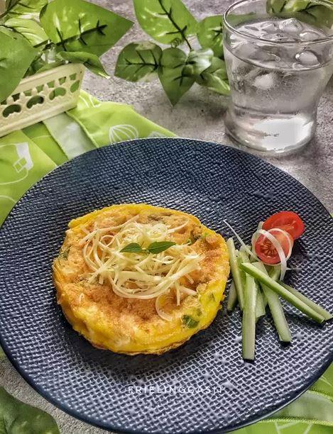 Kreasi telur dadar ala rumahan Instagram/ Cookpad © 2021 brilio.net
