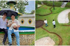 10 Potret fasilitas rumah mewah Aleta Molly, ada lapangan golf