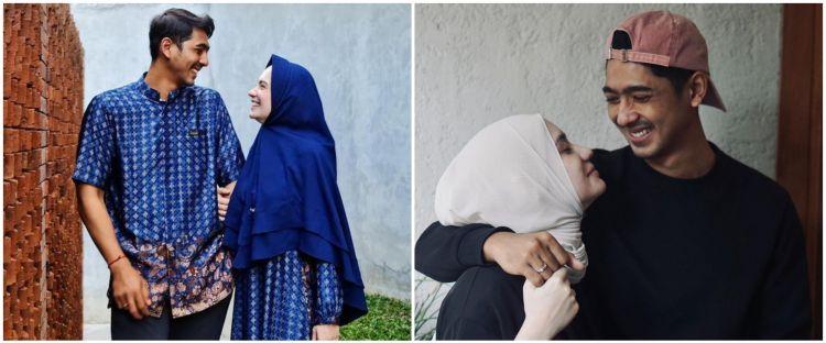 8 Gaya Arya Saloka dan istri pakai baju couple, bisa jadi inspirasi