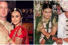 Potret lawas 11 pasangan seleb Bollywood saat menikah, curi perhatian