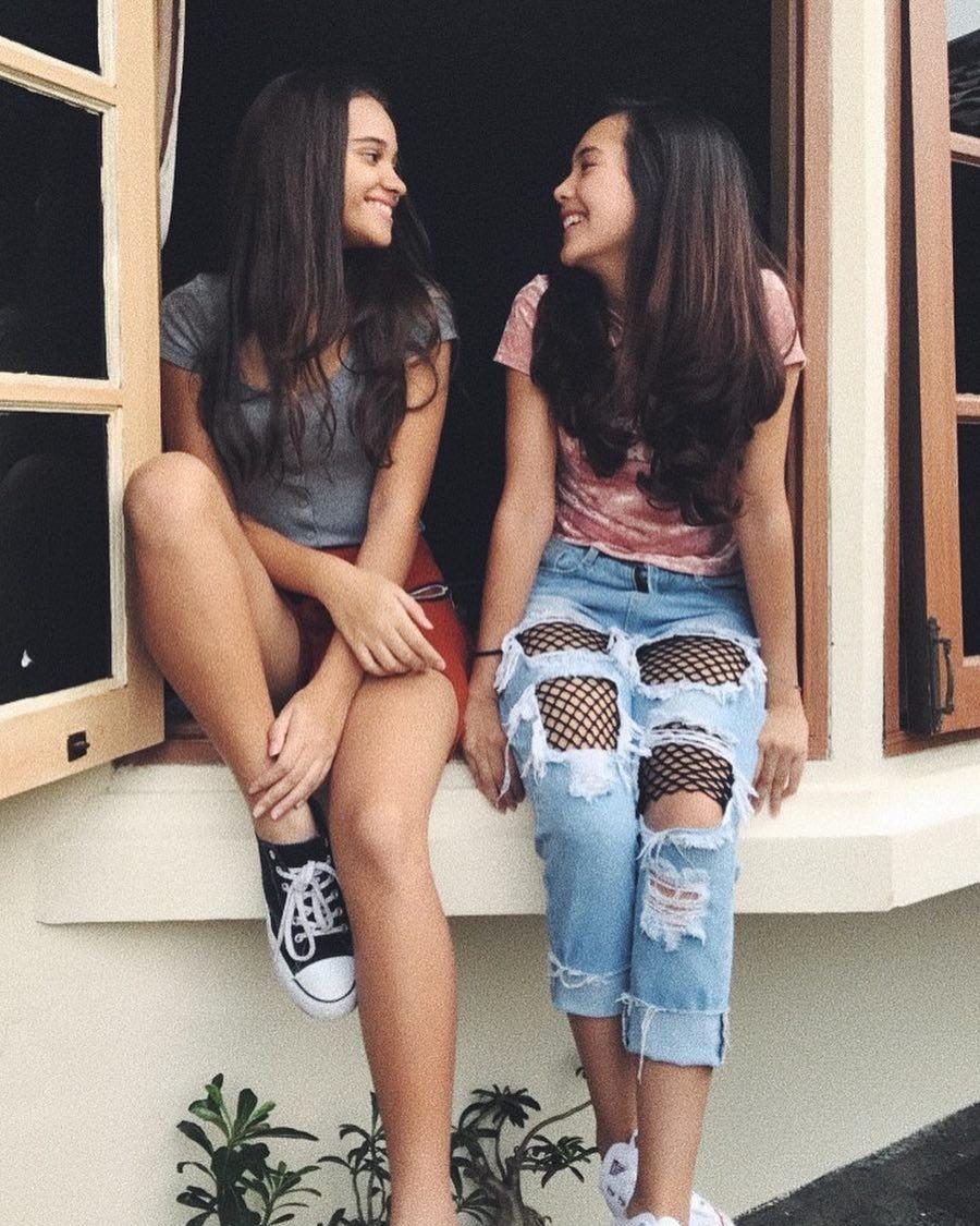 persahabatan Beby Tsabina dan Aurora Ribero © 2021 brilio.net
