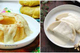 10 Resep puding durian, enak, lembut, dan mudah dibuat