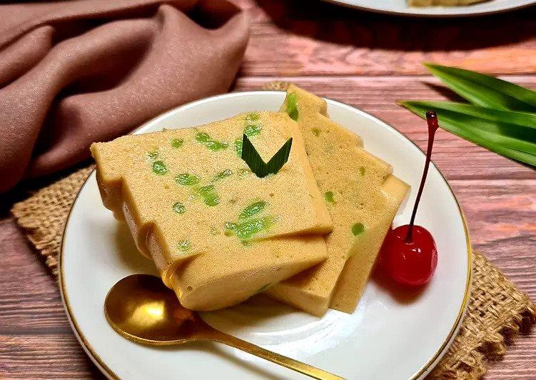 resep puding durian ©Instagram