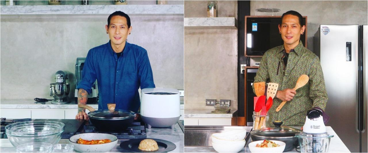 Chef Juna unggah potret tangan diinfus, banjir ucapan doa