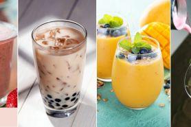 4 Resep minuman berbahan dasar olahan susu, sehat dan menyegarkan