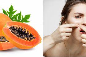 10 Manfaat buah pepaya untuk kecantikan, bantu kurangi jerawat
