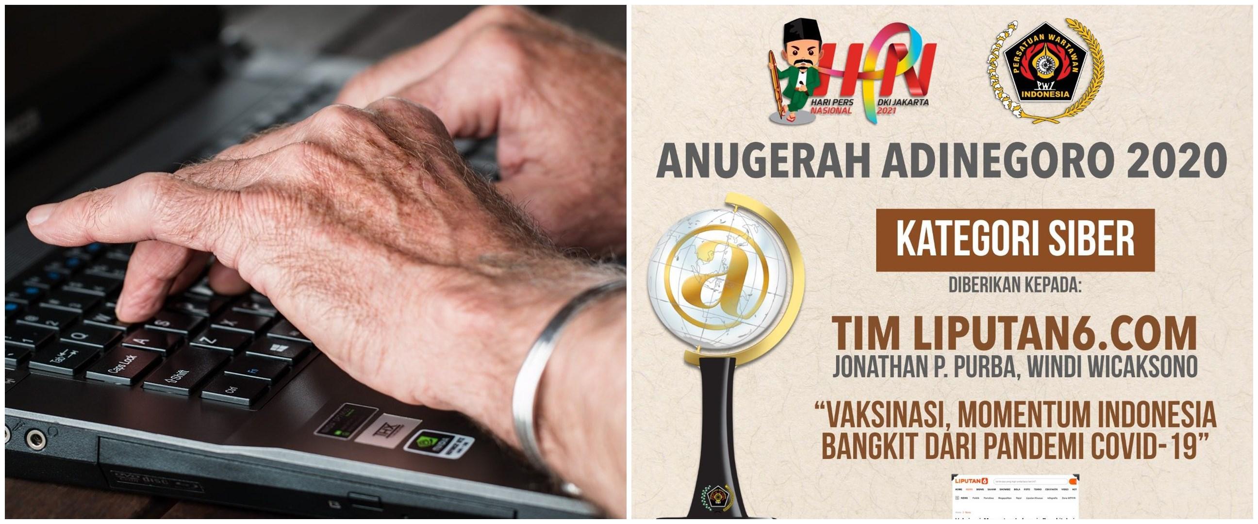 Liputan6.com raih Anugerah Jurnalistik Adinegoro 2020