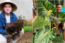 6 Seleb pria gemar berkebun, ada yang jadi petani kota saat PSBB