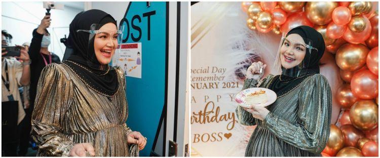 11 Momen kejutan ultah Siti Nurhaliza, perut besarnya curi perhatian