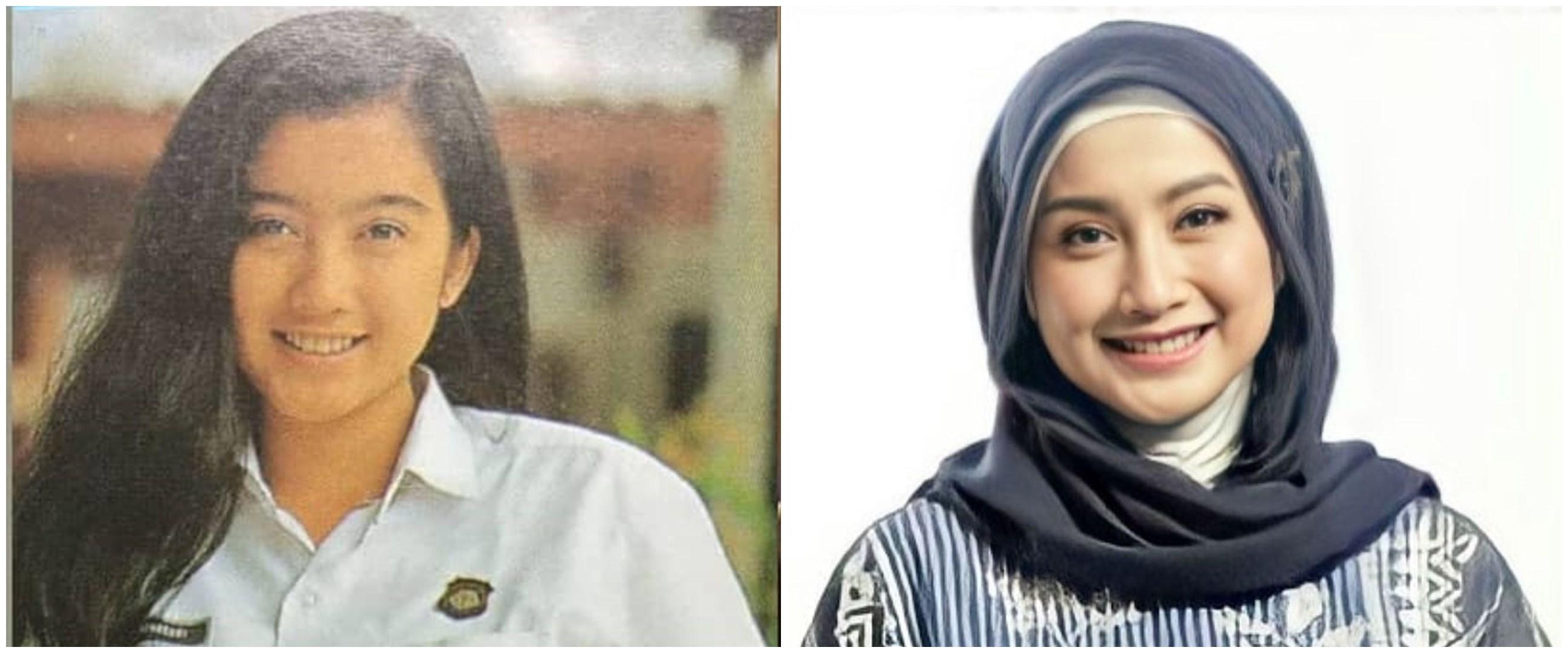 10 Potret transformasi Desy Ratnasari, foto masa SMA jadi sorotan