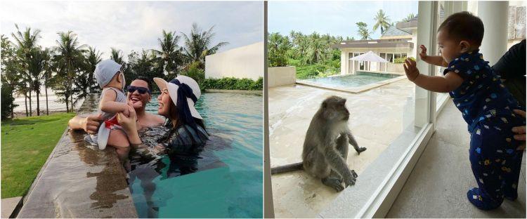 10 Momen seru Arief Muhammad & Tiara Pangestika liburan ke Bali
