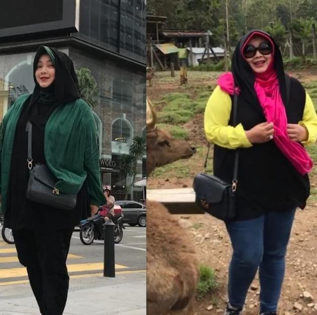 Transformasi Rina Gunawan turun 27 kg © Instagram