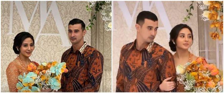 11 Momen pertunangan Ali Syakieb dan Margin Wieheerm, romantis