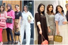 10 Potret Nindy Ayunda dan geng artis, stylish dan memesona