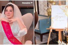 9 Momen seru bridal shower Margin Wieheerm calon istri Ali Syakieb