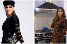 10 Potret dapur baru Luna Maya, desainnya elegan banget