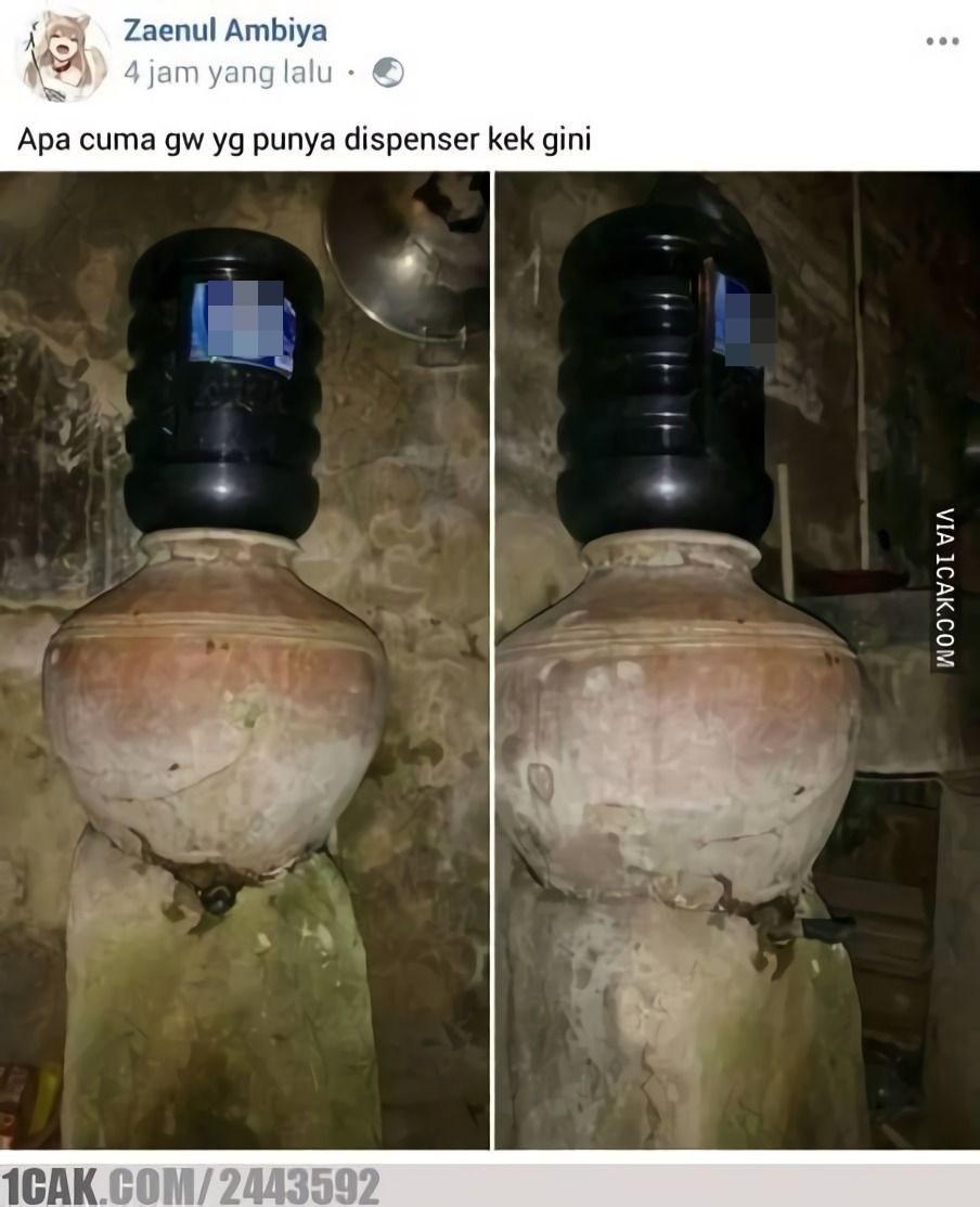 dispenser nyeleneh © Berbagai Sumber