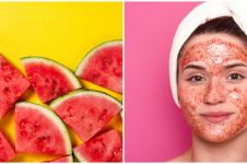 5 Cara membuat masker semangka, bikin kulit wajah glowing