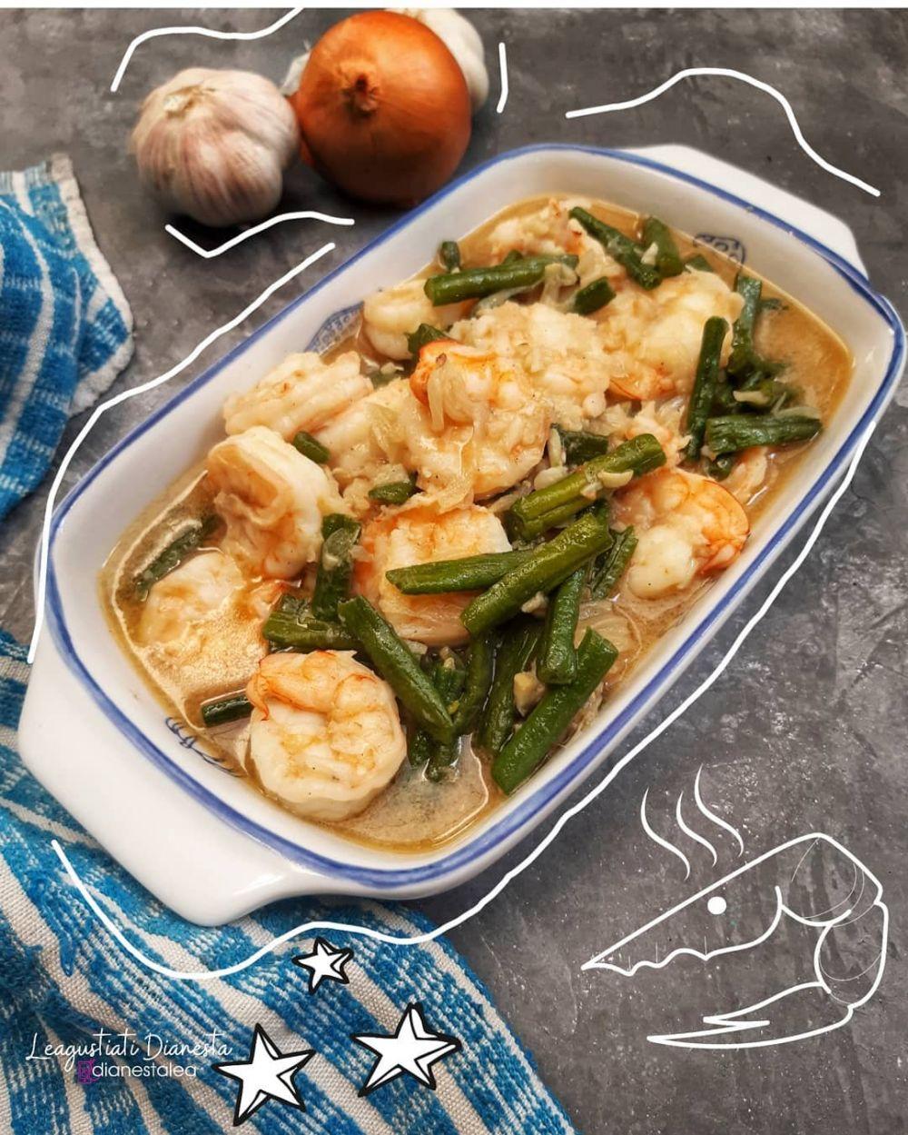 resep tumis udang Instagram © 2021 brilio.net