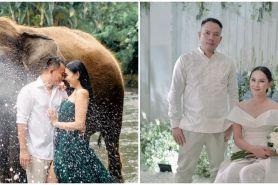 6 Fakta rencana pernikahan Kalina Oktarani & Vicky, bertema gladiator