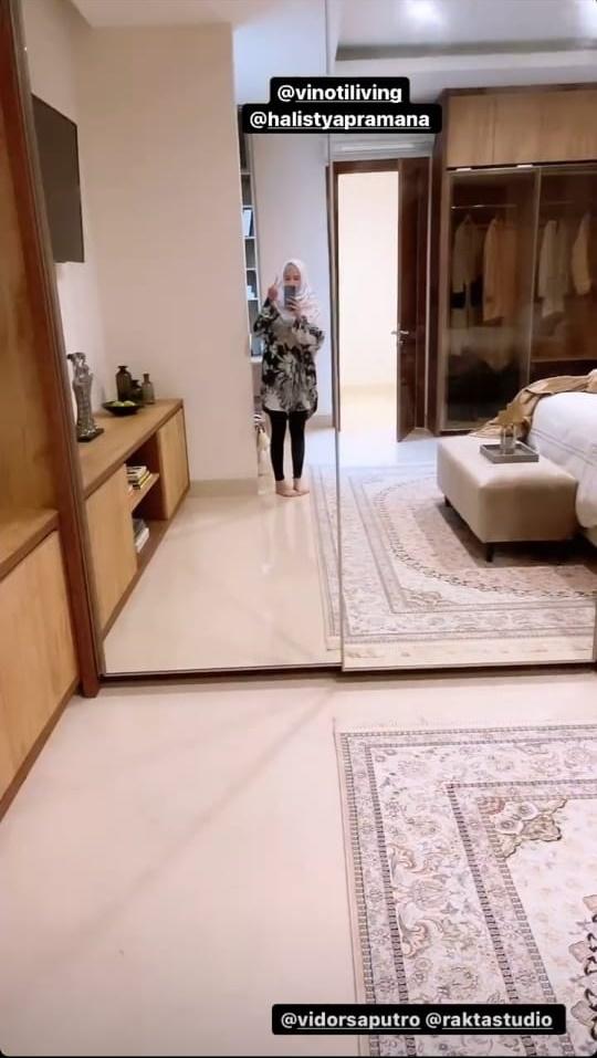 kamar Cut Meyriska rumah baru © Instagram