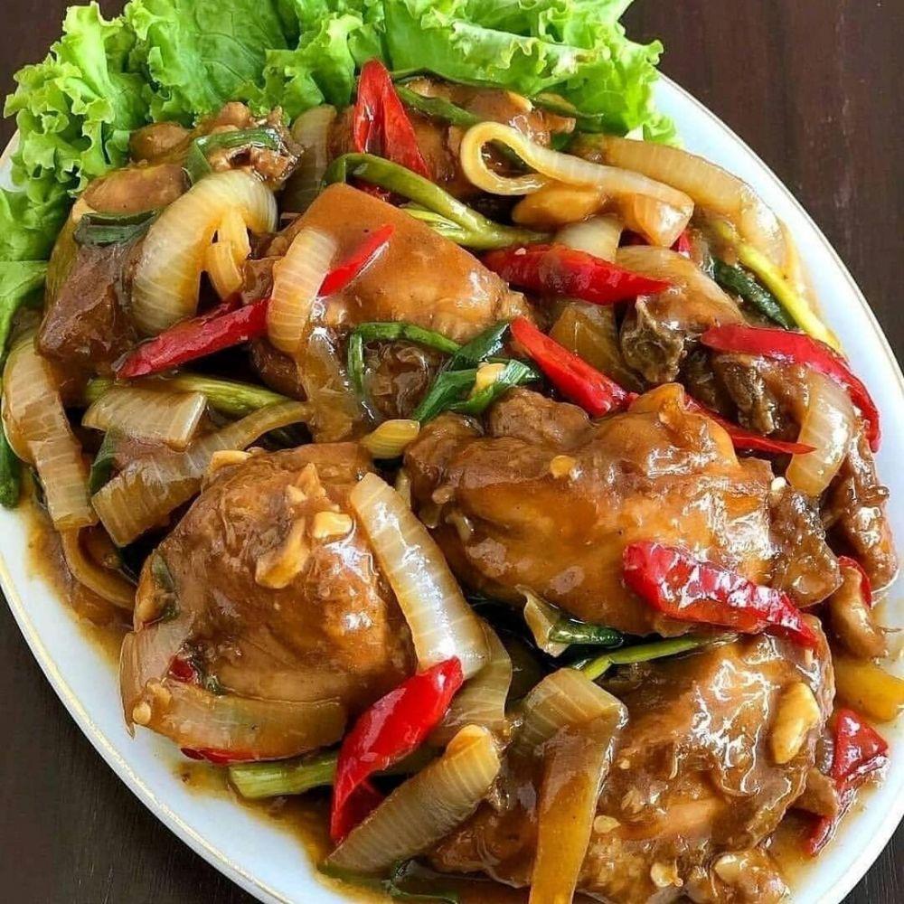 resep ayam tanpa santan Instagram © 2021 brilio.net