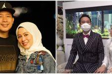 8 Momen ultah pernikahan Denny Cagur & Shanty, bak pengantin baru