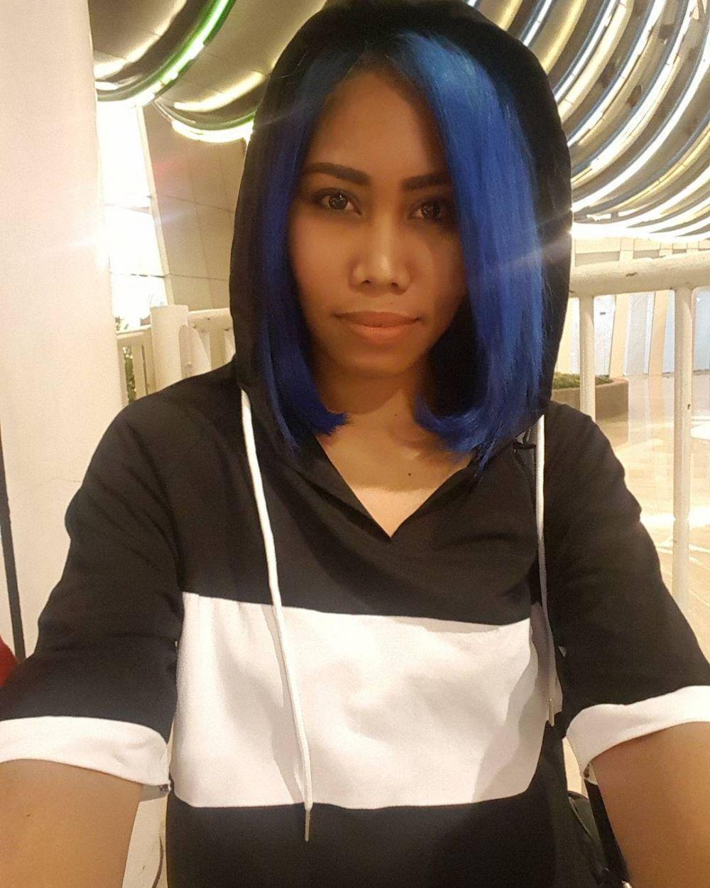 transformasi rambut Evi Masamba © 2021 brilio.net