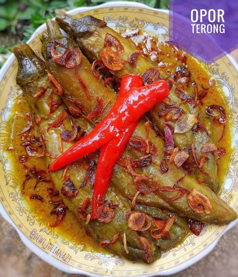 Resep opor tanpa daging ayam © 2021 brilio.net