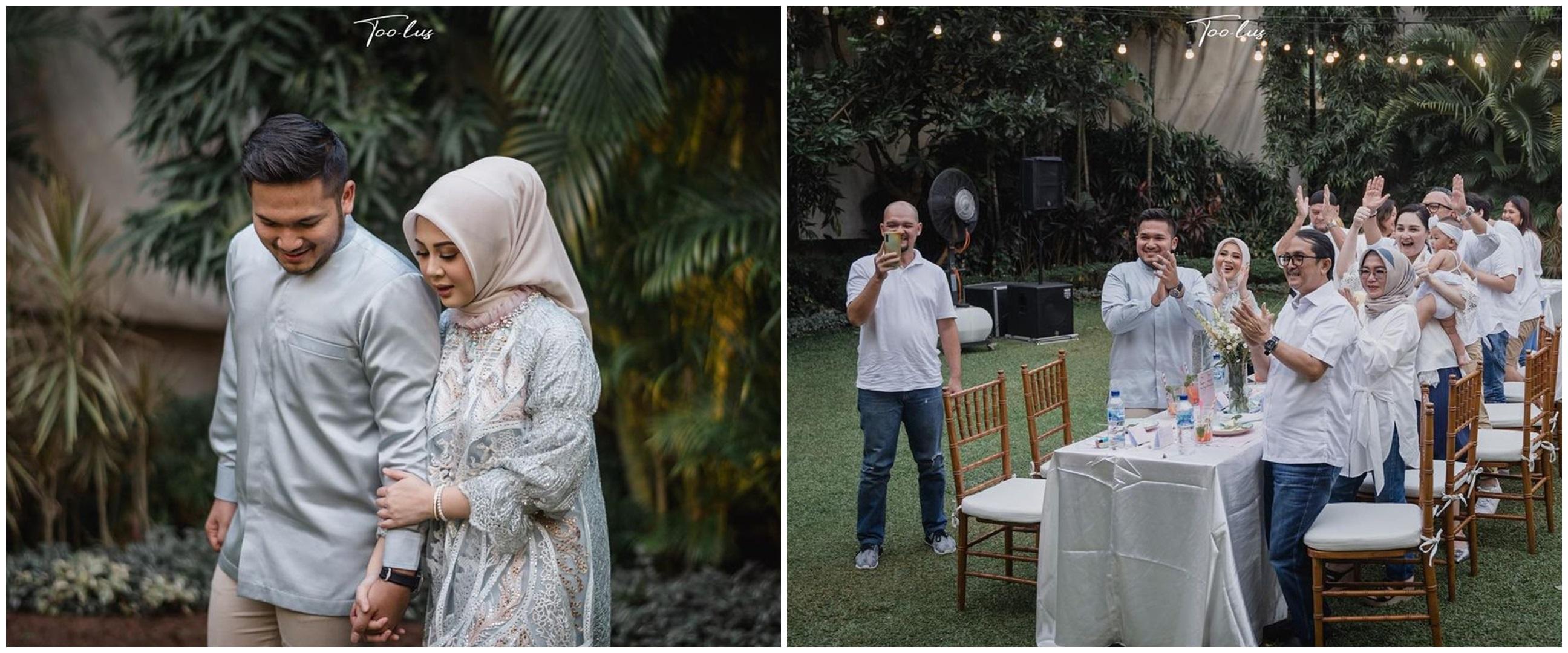 10 Momen intimate dinner Kesha Ratuliu, bernuansa Jimbaran Bali