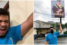 10 Momen kocak Fadil Jaidi tunjukkan wajah Pak Muh nampang di baliho