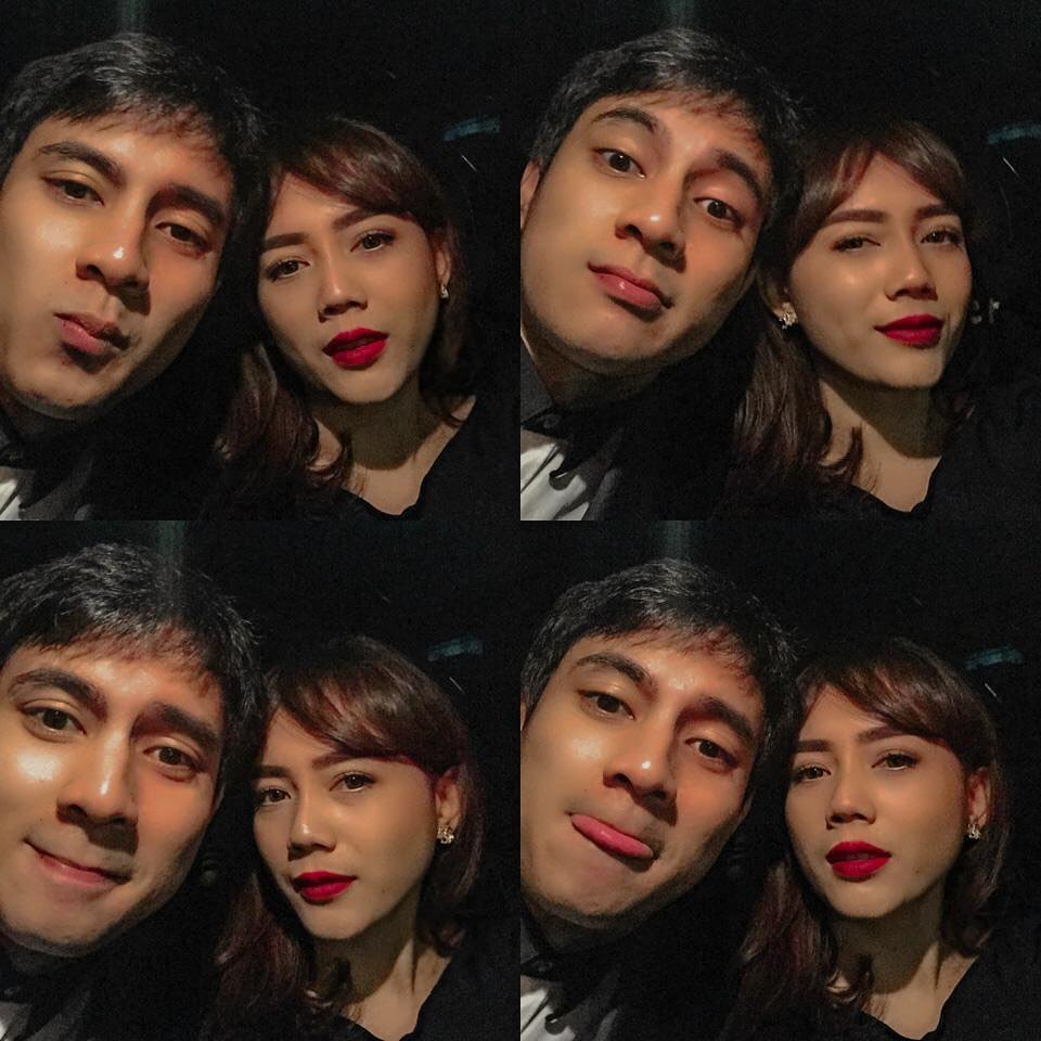 Momen mesra Carlo Milk dan istri © Instagram