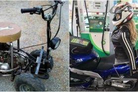 10 Modifikasi motor 'single rider' ini cocok banget buat jomblo