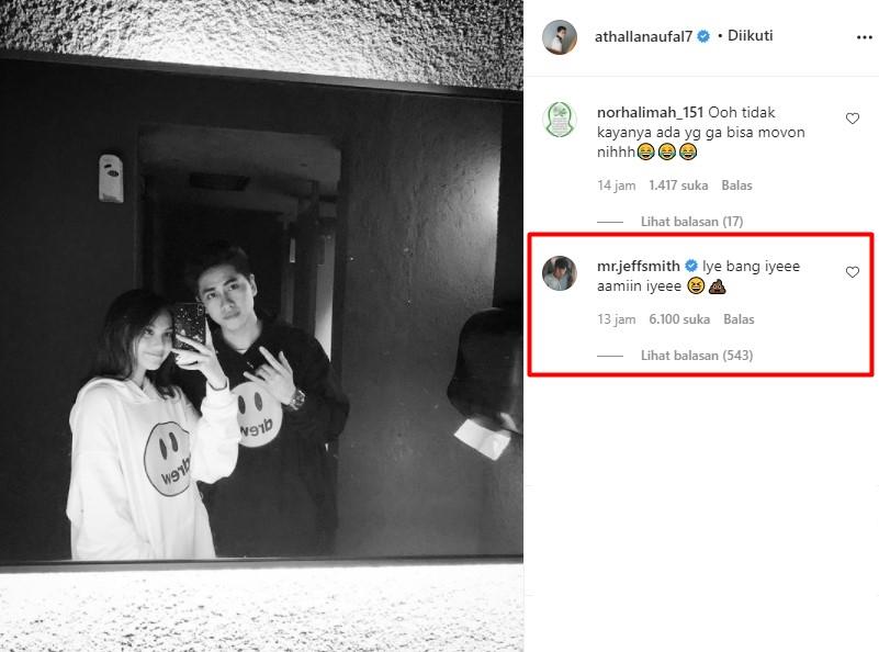 Athalla Naufal tulis ucapan ultah ke Aisyah © Instagram