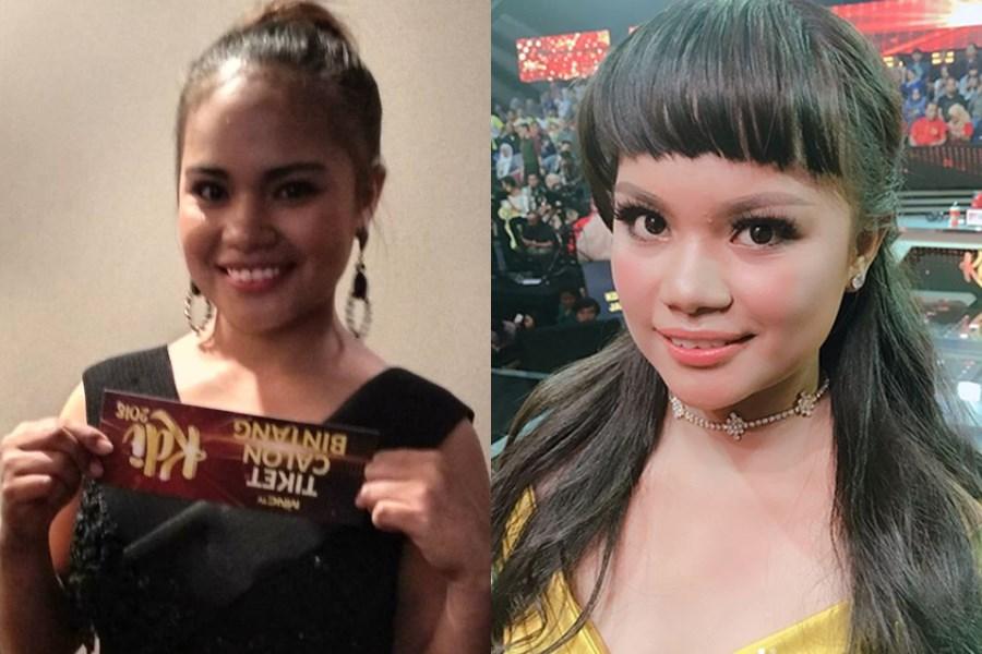 Potret sebelum dan sesudah seleb cantik di-make over © 2020 Instagram