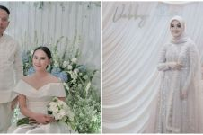 Bukan kebaya, intip inspirasi gaun pertunangan 7 seleb cantik