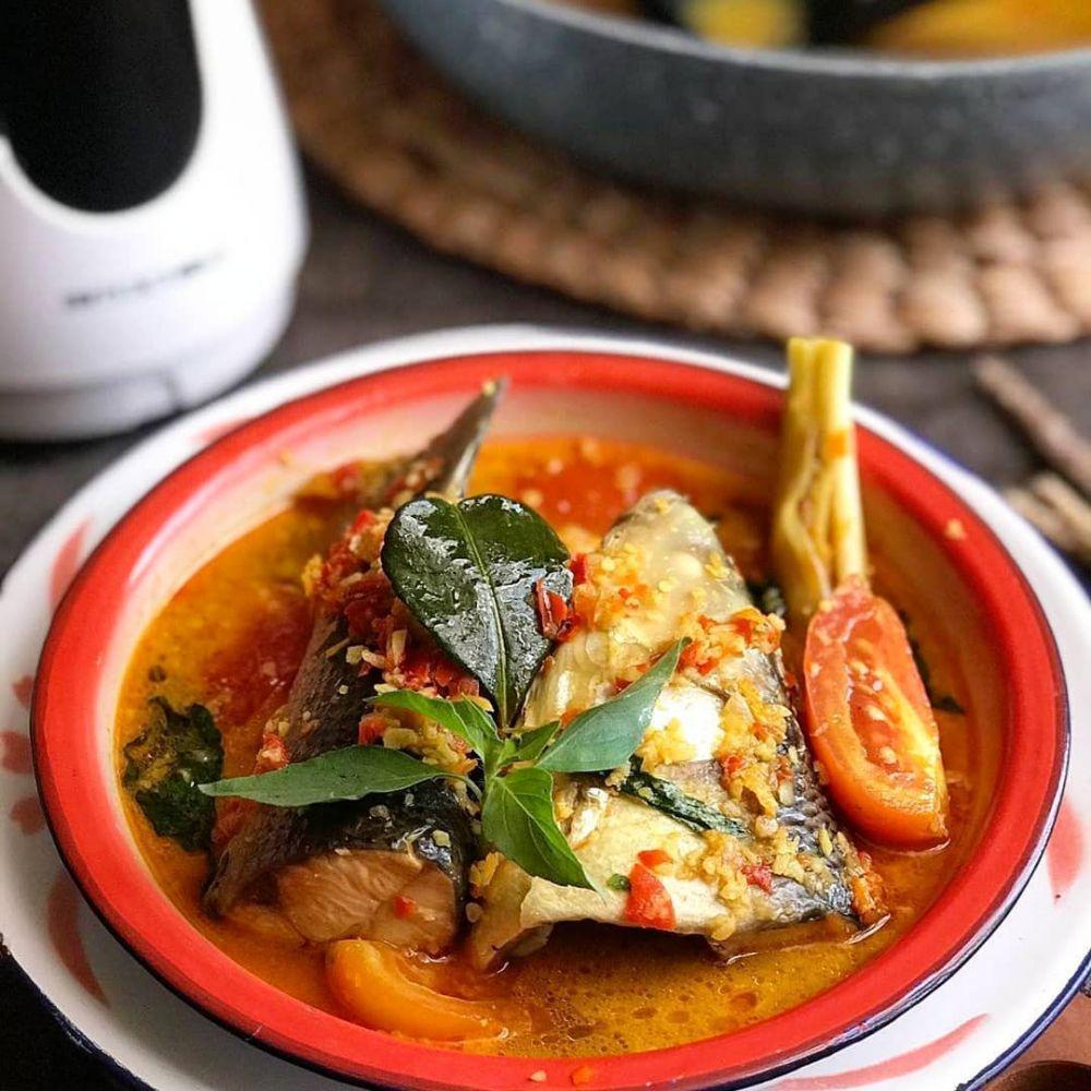 Resep kreasi ikan woku © Instagram