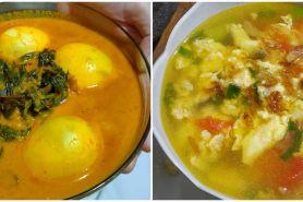 10 Resep sayur telur kuah kuning, enak, praktis, dan sederhana
