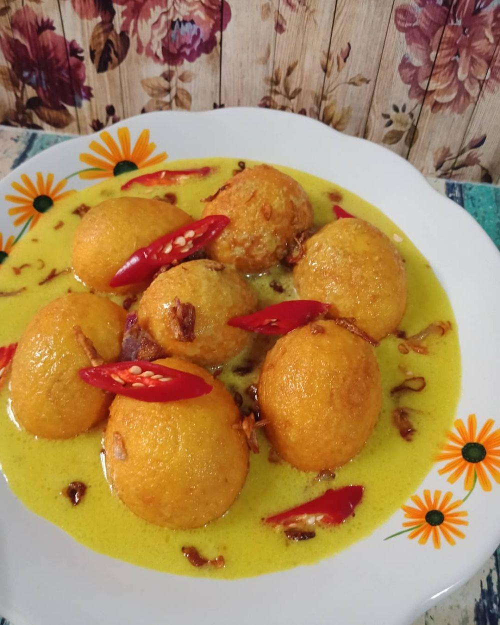 resep telur kuah kuning © Instagram