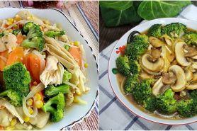 10 Resep cah brokoli ala rumahan, sehat, enak dan mudah dibuat