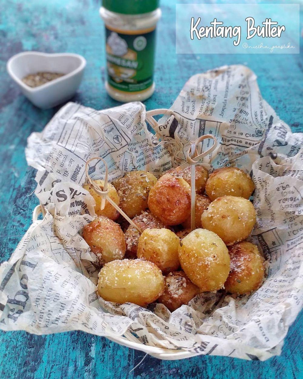 Olahan kentang paling sederhana Instagram