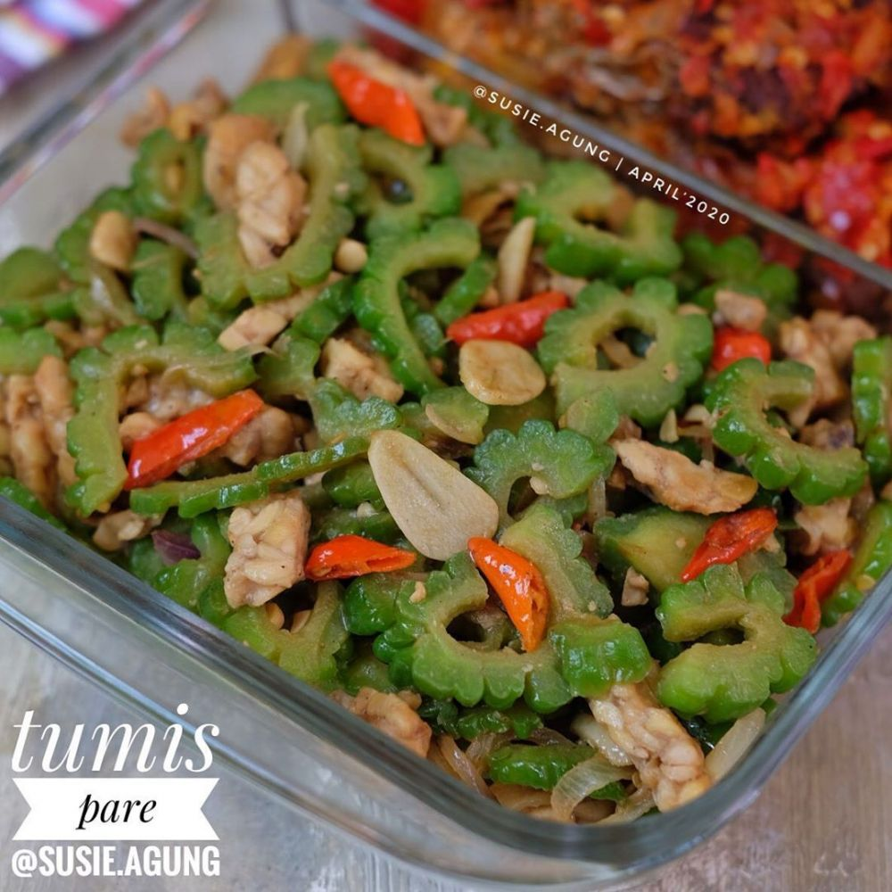 Resep tumis sayur dengan berbagai bahan © Instagram