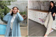 10 Potret Reny Setiawati istri Bimbim Slank, modis dan kece abis