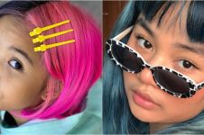 Potret 8 anak seleb yang pernah warnai rambut, nyentrik abis