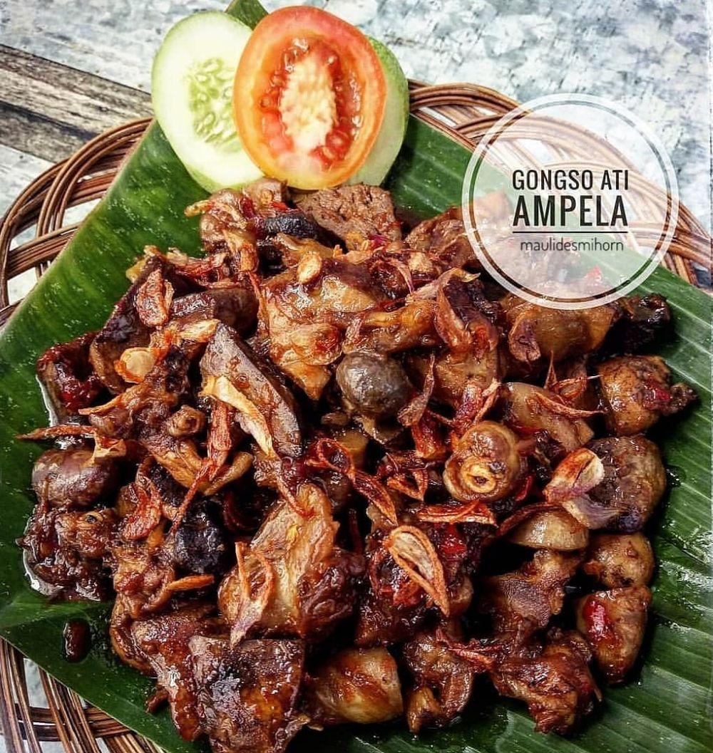 Resep jeroan ayam Instagram © 2021 brilio.net